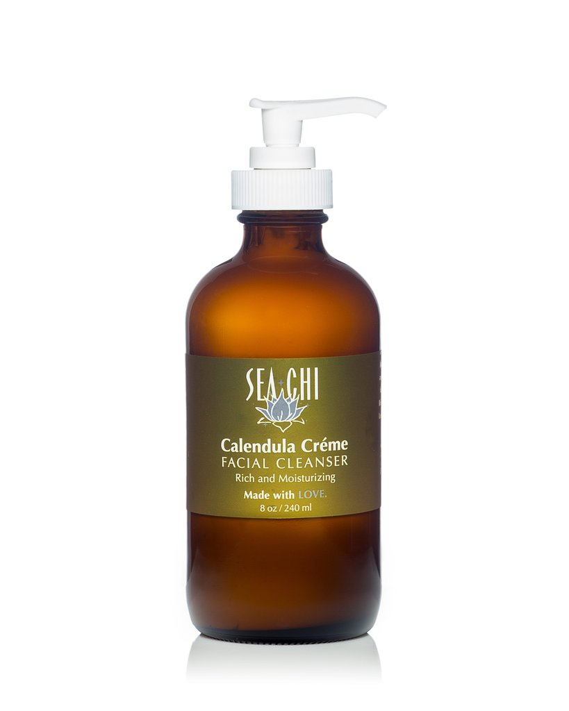 Calendula Crème Facial Cleanser 240ml / 8 oz. Sea Chi Organics