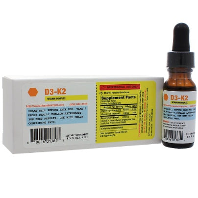 D3-K2 1oz BioProtein Technology