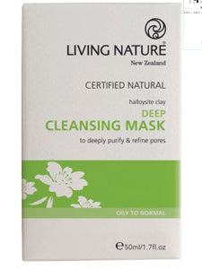 Deep Cleansing Mask 50 ml Living Nature