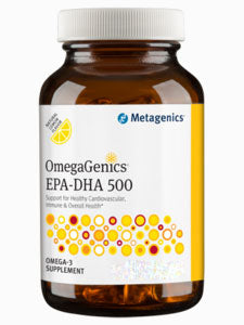 OmegaGenics EPA-DHA 500 Lemon 120 SG Metagenics
