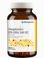 OmegaGenics EPA-DHA 500 Enteric-Coated Lemon 120 SG Metagenics