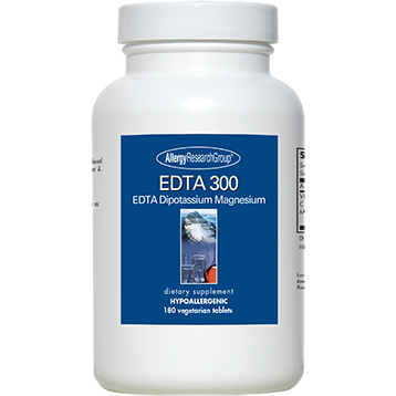 Allergy Research Group EDTA 300 180 vegtabs
