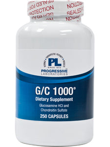 G/C 1000 250 caps Progressive Labs