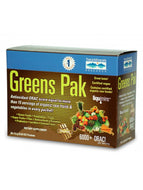 Greens Pak Chocolate 30 packets Trace Minerals Research