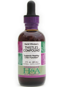 Thistles Compound 2 oz Herbalist & Alchemist