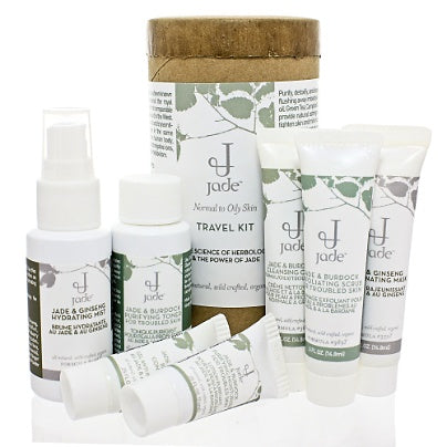 Jade Facial Travel Kit - Normal to Oily Skin