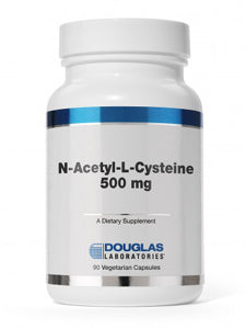 N-Acetyl-L-Cysteine 500 mg 90 vcaps Douglas Labs