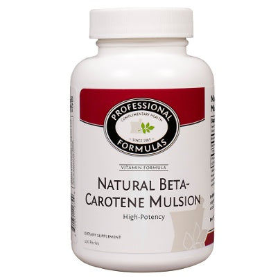 Natural Beta Carotene 120prls
