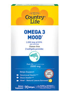 Omega 3 Mood 90 gels Country Life