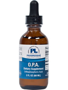 OPA Orthophosphoric Acid 2 oz Progressive Labs