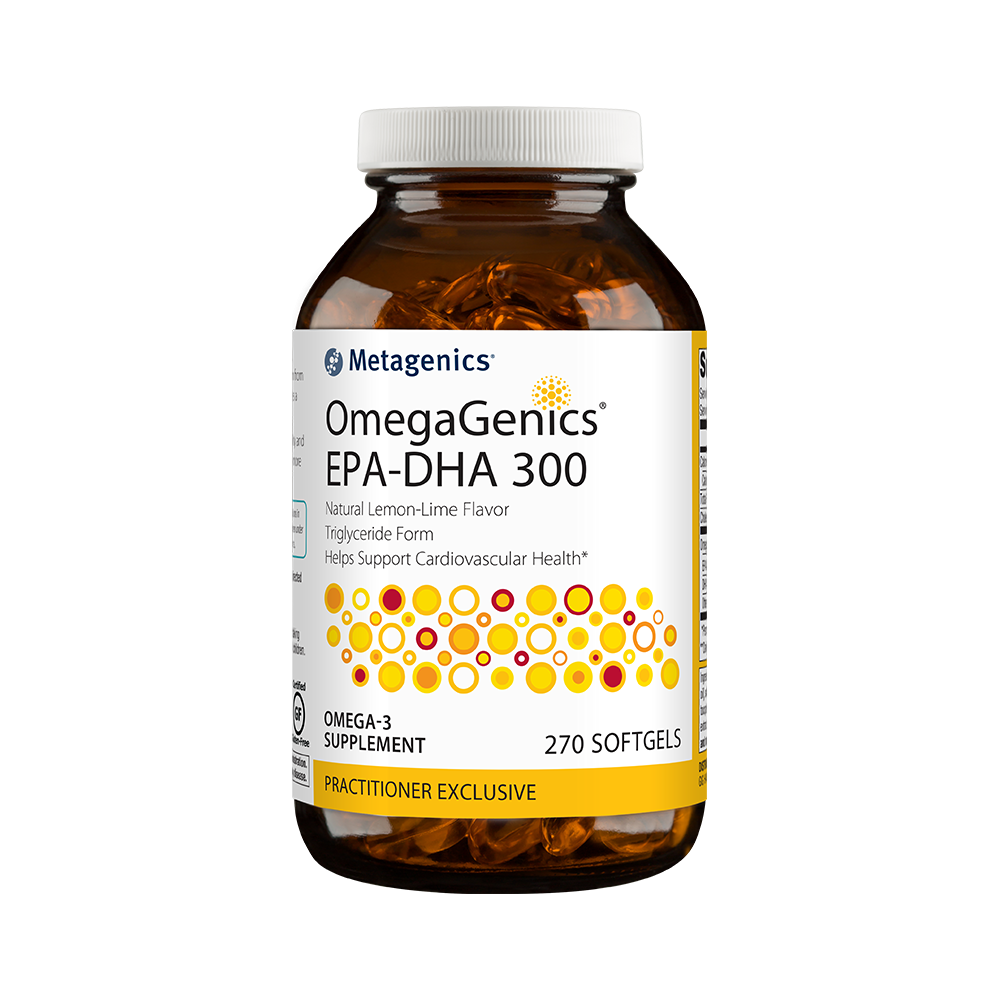Metagenics OmegaGenics EPA-DHA 300 Lemon Lime 270 SG