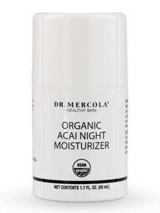Organic Acai Night Moisturizer 1.7 fl oz Dr Mercola