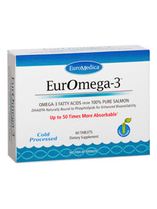 EurOmega-3 60 tabs (previously PhosphOmega-3) Euromedica
