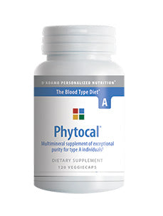 Phytocal A 120 vcaps D'Adamo Personalized Nutrition