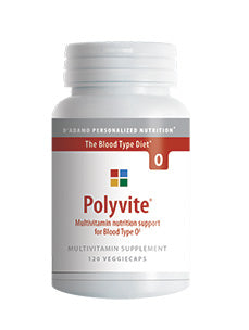 Polyvite O 120 vcaps D'Adamo Personalized Nutrition