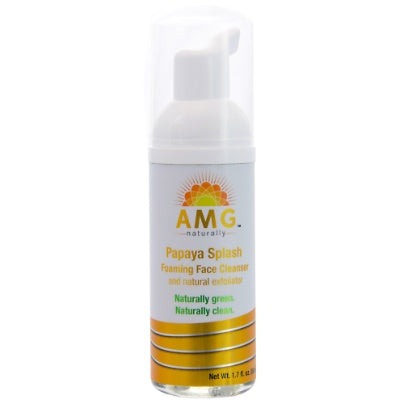 Papaya Splash Foaming Face Wash 2oz AMG Naturally