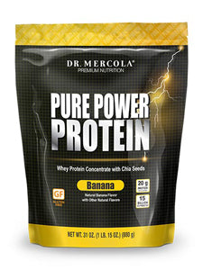Pure Power Protein Banana 31 oz Dr Mercola