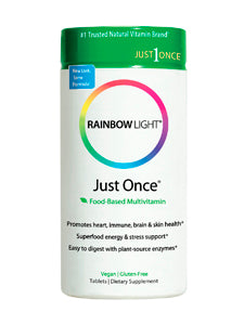 Just Once Multivitamin 120 tabs Rainbow Light Nutrition