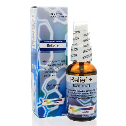 Relief plus Oral Spray 1oz