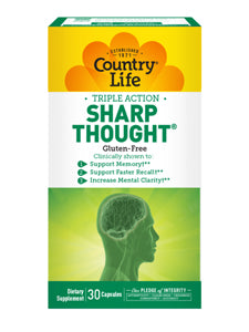 Sharp Thought 30 caps Country Life