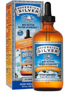 Silver Hydrosol 10 ppm 8 oz Sovereign Silver