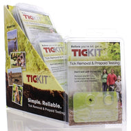 TIC-KIT 8 Kits with Display Pharmasan Animal Health