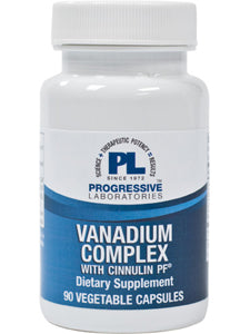 Vanadium Complex 90 vcaps Progressive Labs