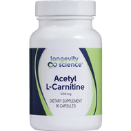 Longevity Science Acetyl L-Carnitine 90 vcaps