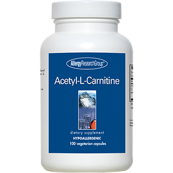 Allergy Research Group Acetyl-L-Carnitine 500 mg 100 caps