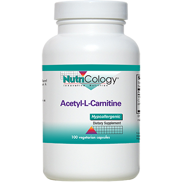 Nutricology Acetyl-L-Carnitine 500 mg 100 caps