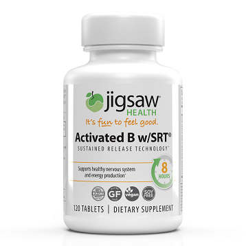 Activated B w/SRT 120 tabs Jigsaw Health