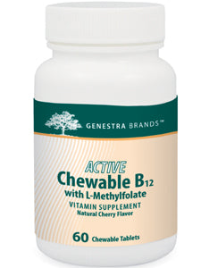 Active Chew B12 with L-Methylfolate 60 tabs Seroyal/Genestra