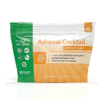 Adrenal Cocktail + Wholefood Vitamin C Packets 60 packets Jigsaw Health