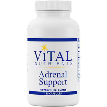 Vital Nutrients Adrenal Support 120 caps
