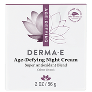 Age Defying Night Creme 2 oz DermaE Natural Bodycare