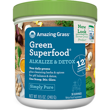 Amazing Grass Alkalize Detox Green Superfood 28.2 oz