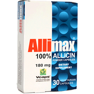 Allimax International Allimax 180 mg 30 vcaps