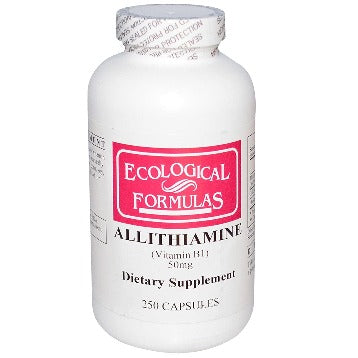 Allithiamine (Vitamin B1) 50 mg 250 caps Ecological Formulas