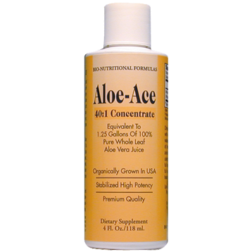 Bio Nutritional Formulas Aloe-Ace 40:1 Concentrate 4 oz