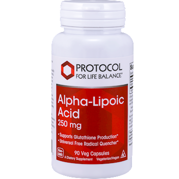 Alpha-Lipoic Acid 250 mg 90 vcaps