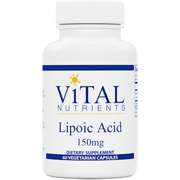 Alpha Lipoic Acid 150 mg 60 caps