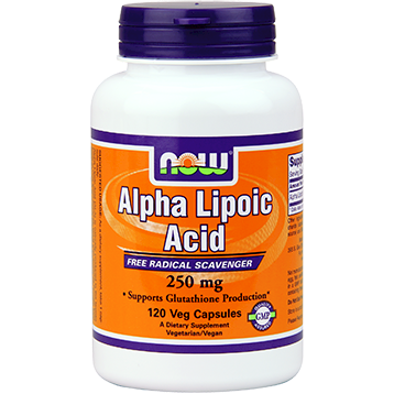 Alpha Lipoic Acid 250 mg 120 vcaps