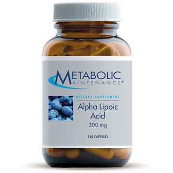 Metabolic Maintenance Alpha Lipoic Acid 300mg 100 caps