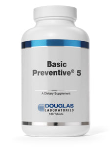 Basic Preventive 5 Iron-Free 180 tabs