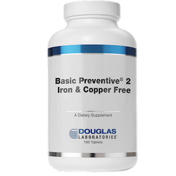 Basic Preventive 2 (FE_and_CU free) 180 tabs Douglas Labs