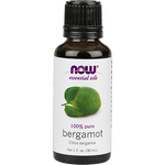 Now Foods Bergamot Oil, Organic 1 oz