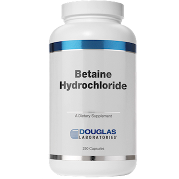 Douglas Labs Betaine Hydrochloride 250 caps