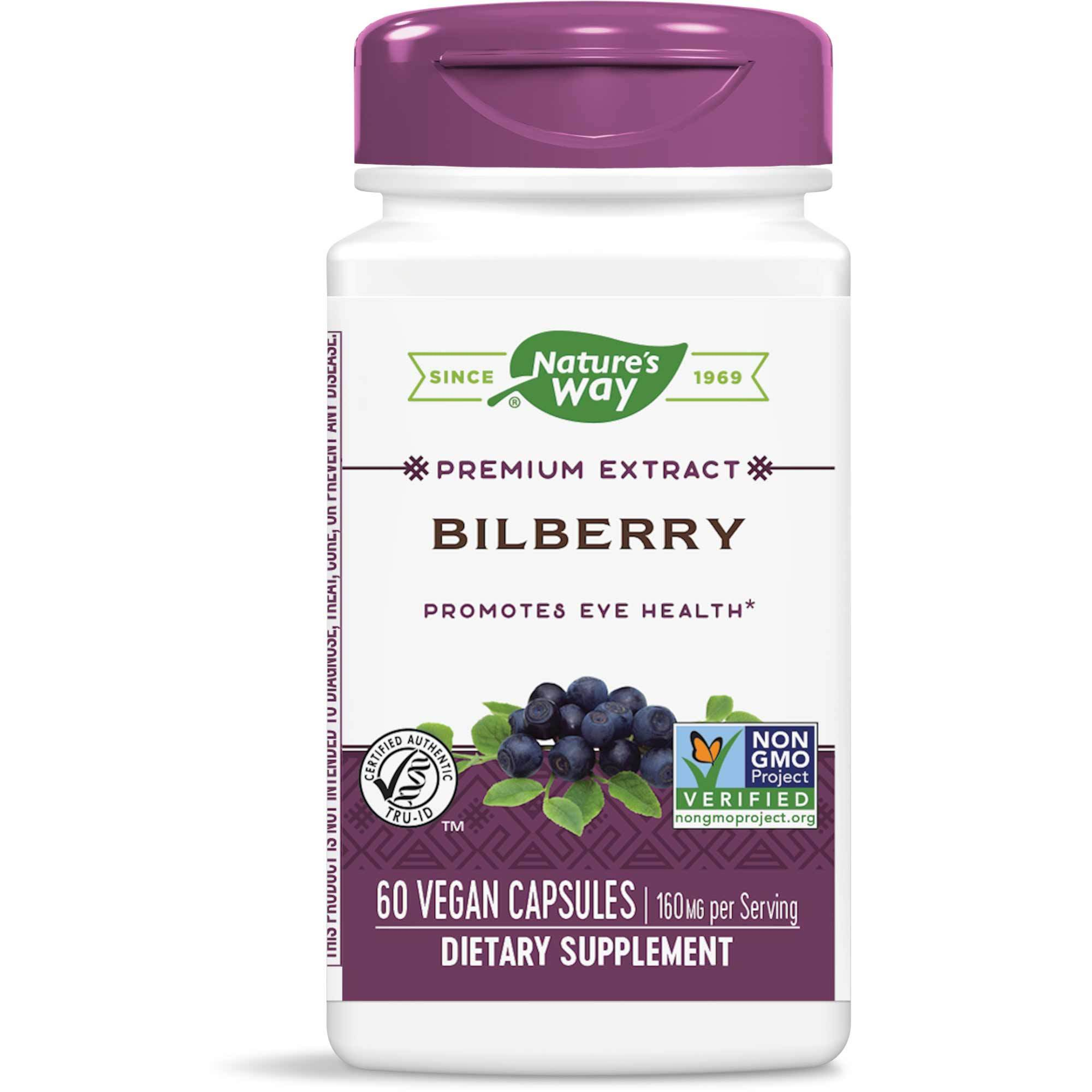 Bilberry Extract 60 caps Enzymatic Therapy