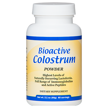 Bioactive Colostrum 60g 2.1oz Powder Well Wisdom Proteins