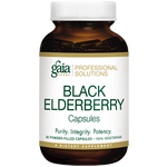 Black Elderberry 60 caps Gaia Herbs Professional